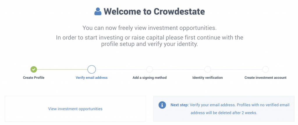 CrowdEstate review welcome