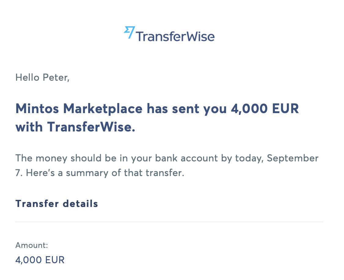 Mintos transfer