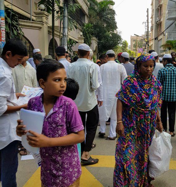 Hectic days in Dhaka, Bangladesh